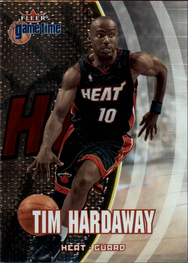 2000-01 Fleer Game Time #17 Tim Hardaway