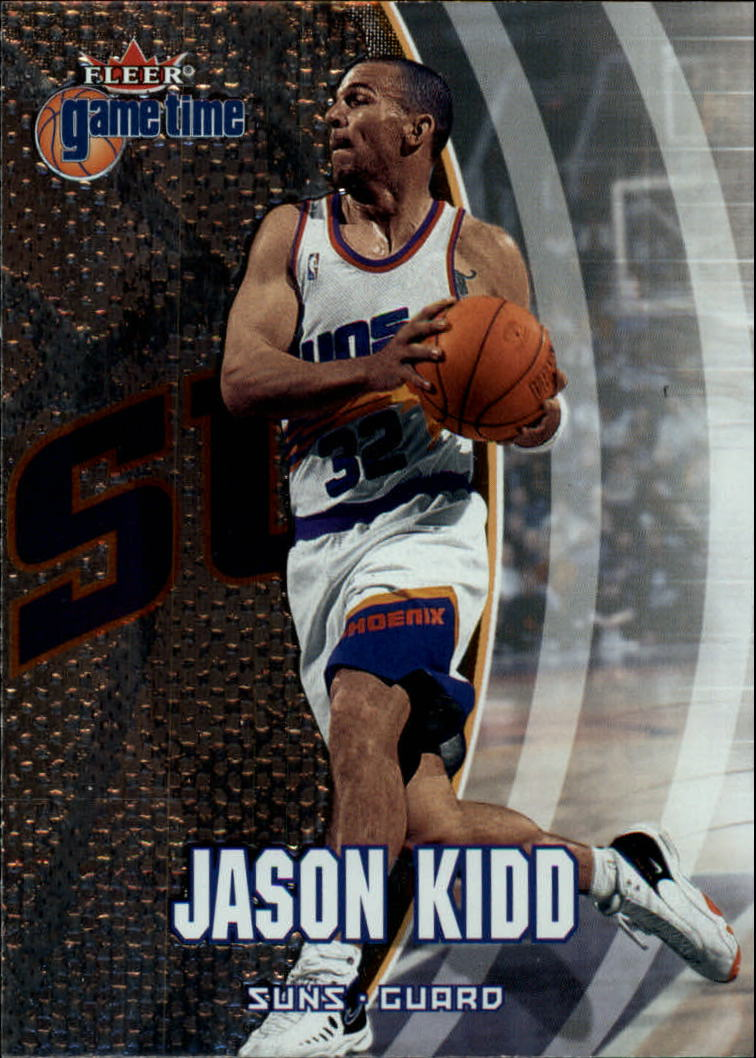 2000-01 Fleer Game Time #18 Jason Kidd