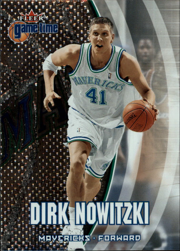 2000-01 Fleer Game Time #20 Dirk Nowitzki