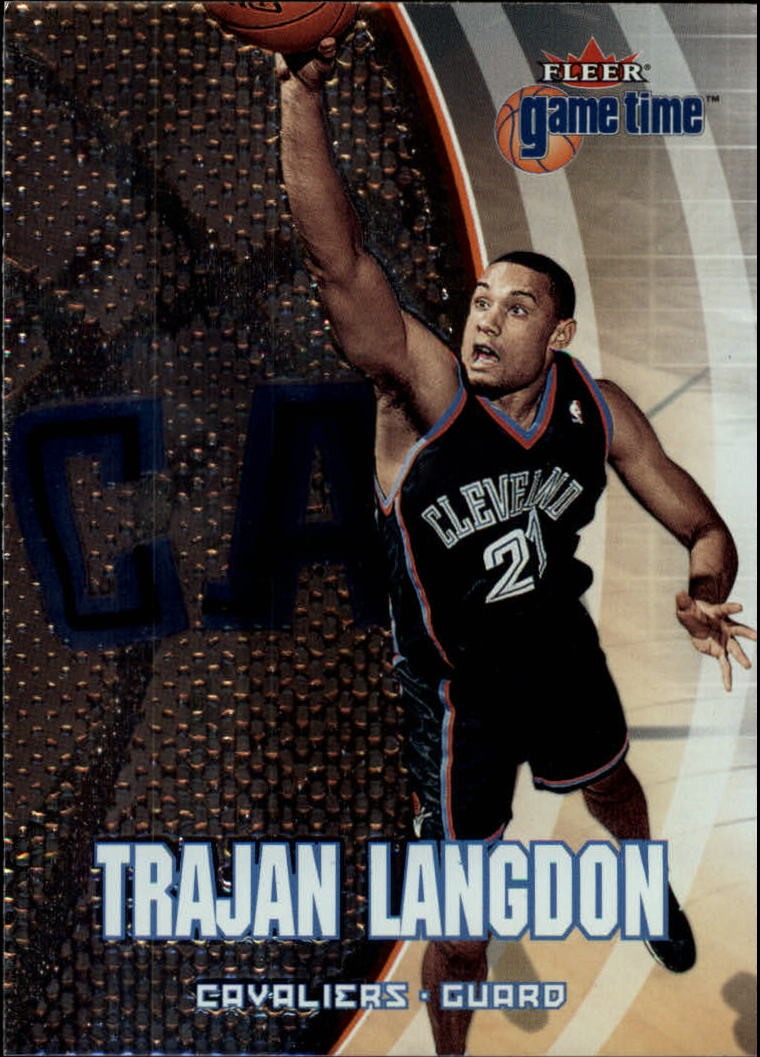 2000-01 Fleer Game Time #29 Trajan Langdon
