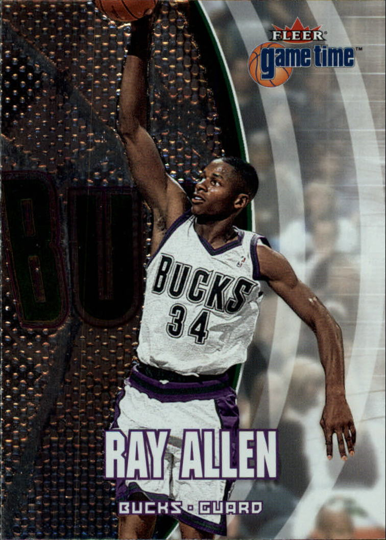 2000-01 Fleer Game Time #36 Ray Allen