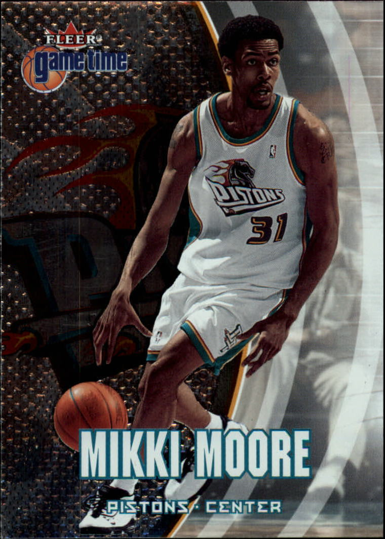 2000-01 Fleer Game Time #39 Mikki Moore RC