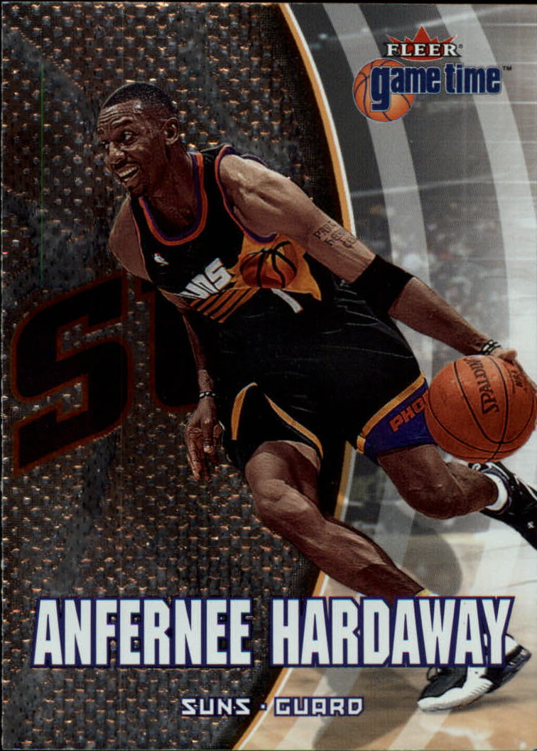 2000-01 Fleer Game Time #44 Anfernee Hardaway