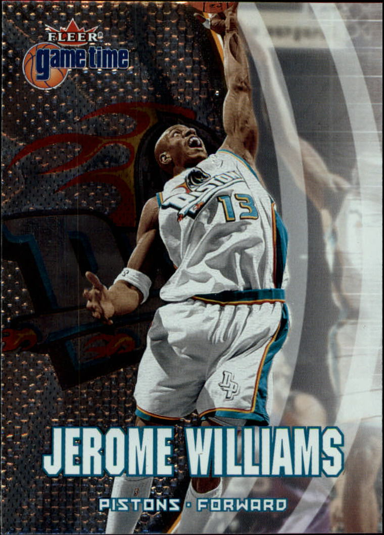 2000-01 Fleer Game Time #45 Jerome Williams
