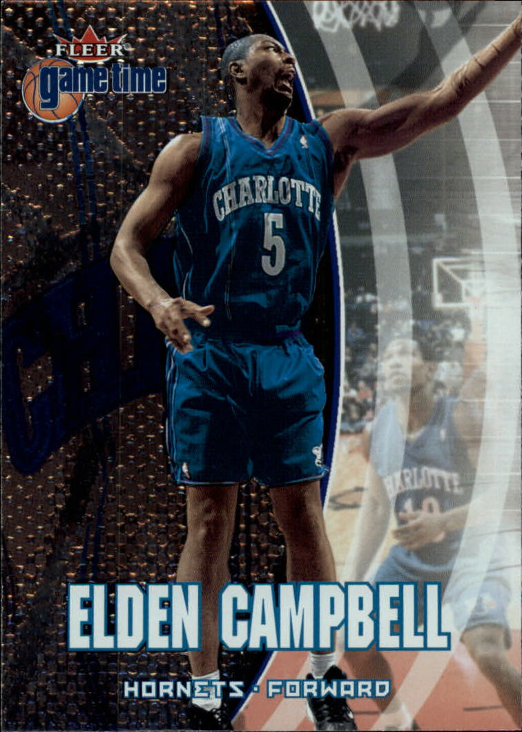 2000-01 Fleer Game Time #49 Elden Campbell