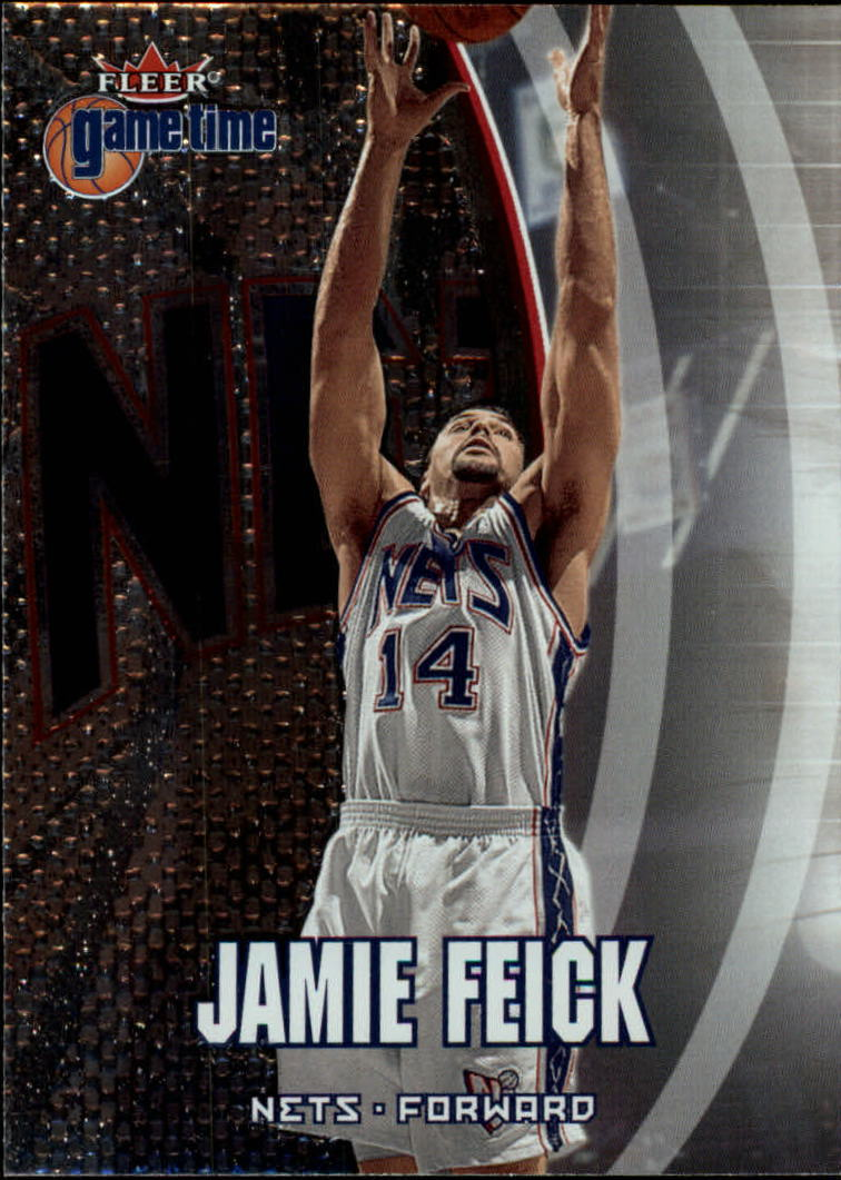 2000-01 Fleer Game Time #51 Jamie Feick