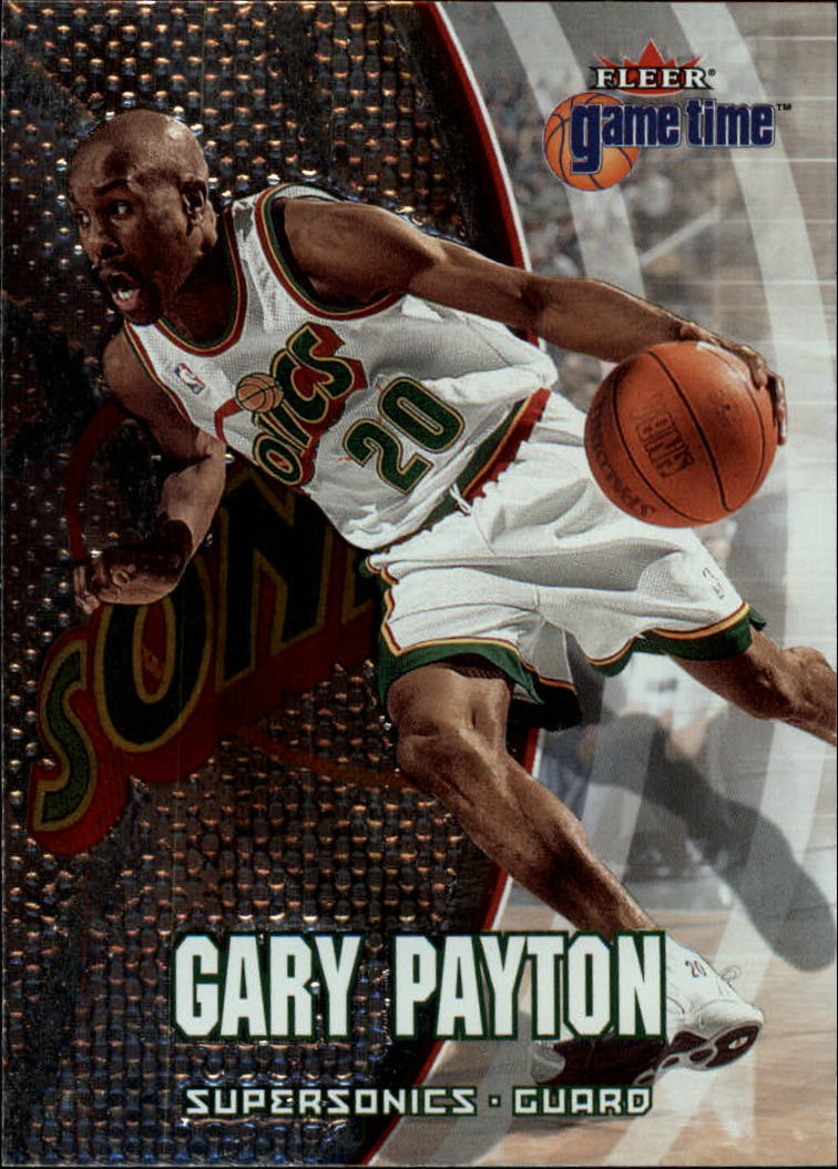 2000-01 Fleer Game Time #52 Gary Payton