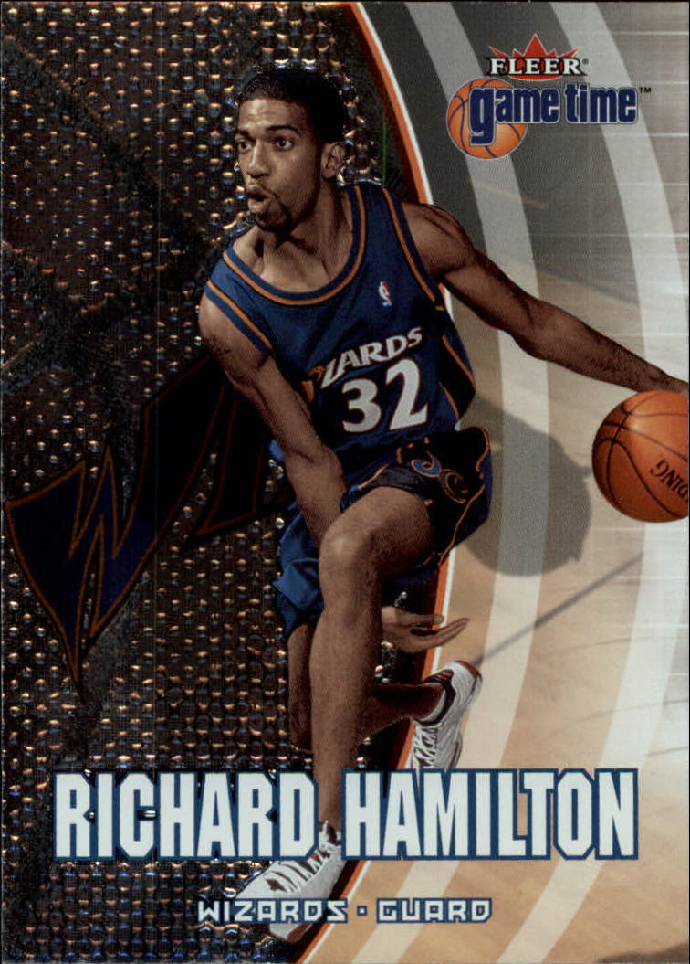 2000-01 Fleer Game Time #56 Richard Hamilton