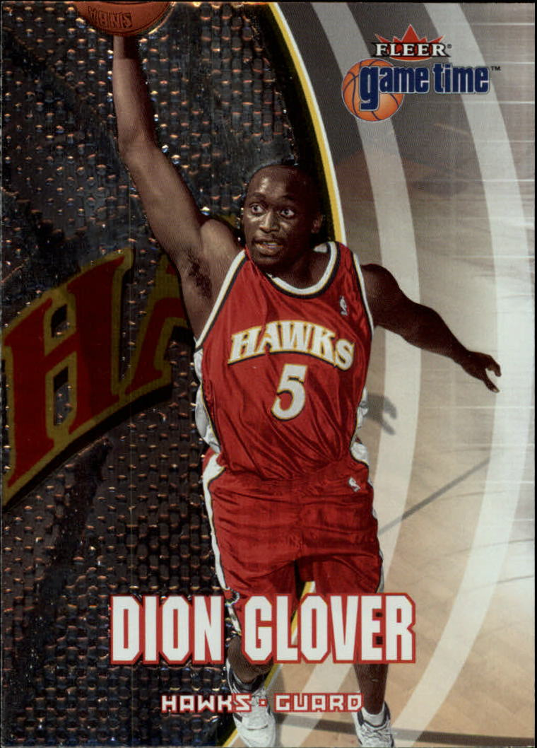 2000-01 Fleer Game Time #57 Dion Glover
