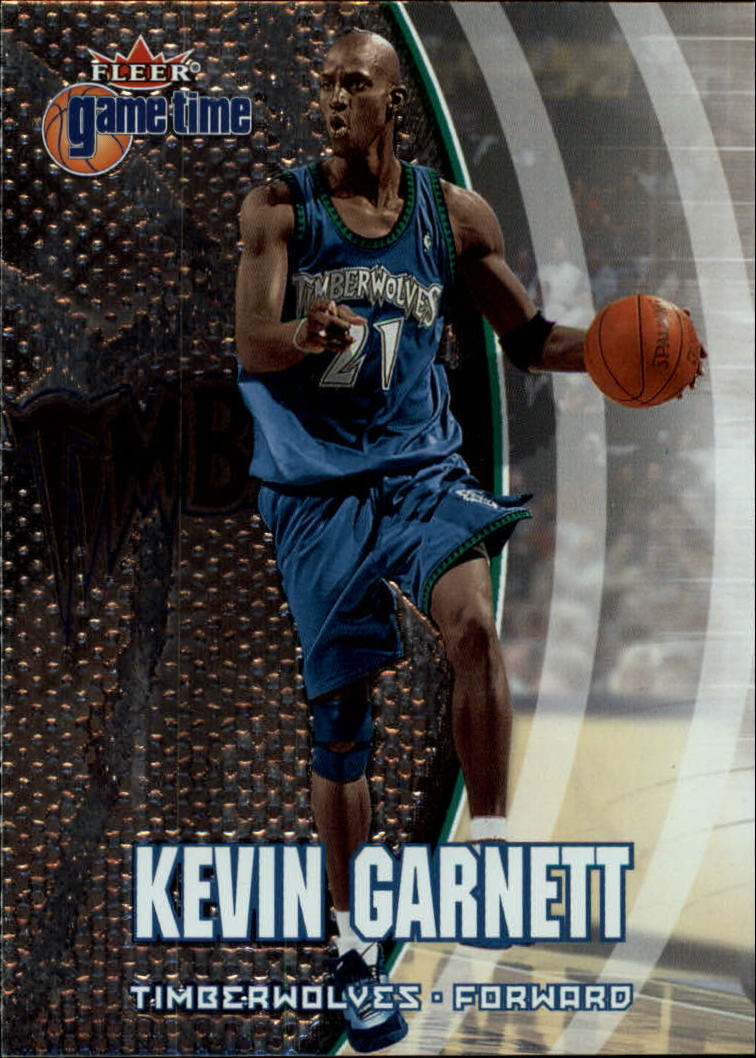 2000-01 Fleer Game Time #59 Kevin Garnett