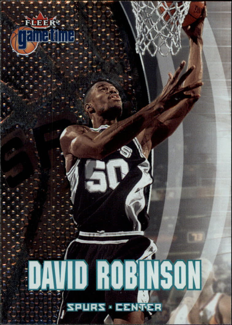 2000-01 Fleer Game Time #76 David Robinson