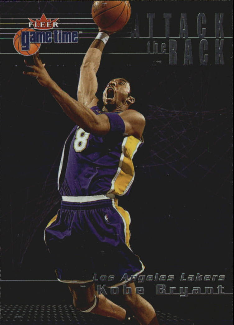 2000-01 Fleer Game Time Attack the Rack #AR3 Kobe Bryant