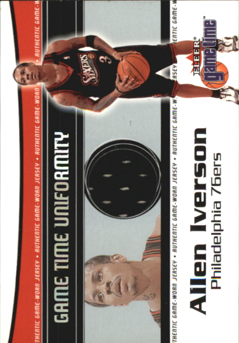 2000-01 Fleer Game Time Uniformity #5 Sean Elliott