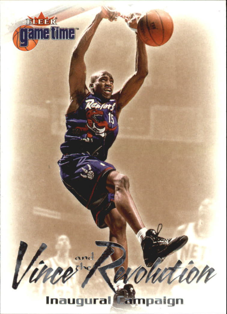 2000-01 Fleer Game Time Vince and the Revolution #3 Vince Carter