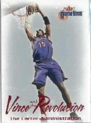 2000-01 Fleer Game Time Vince and the Revolution #7 Vince Carter