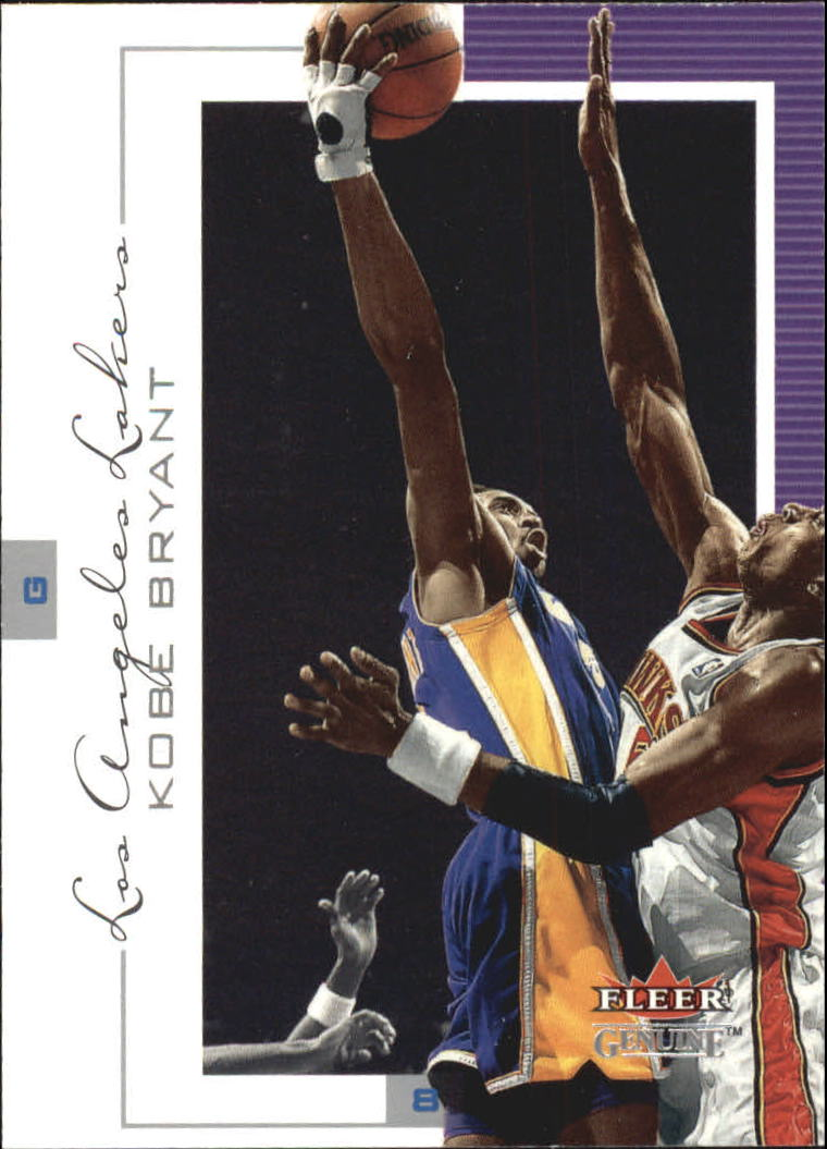 2000-01 Fleer Genuine #26 Kobe Bryant