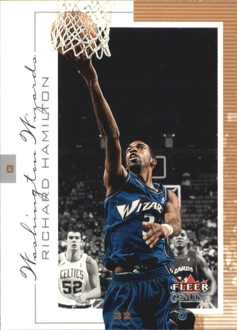 2000-01 Fleer Genuine #32 Richard Hamilton
