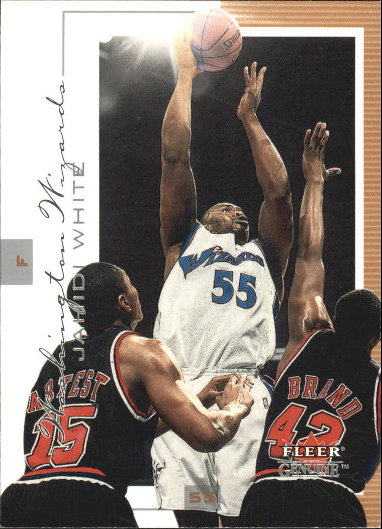 2000-01 Fleer Genuine #40 Jahidi White