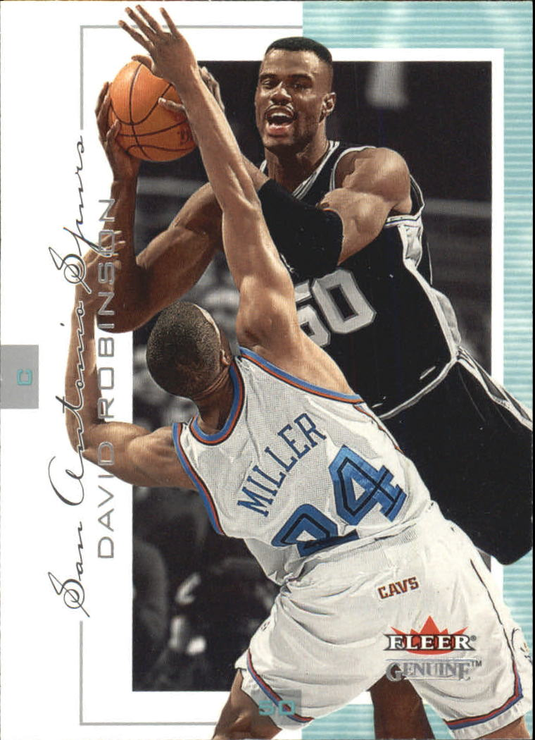 2000-01 Fleer Genuine #47 David Robinson