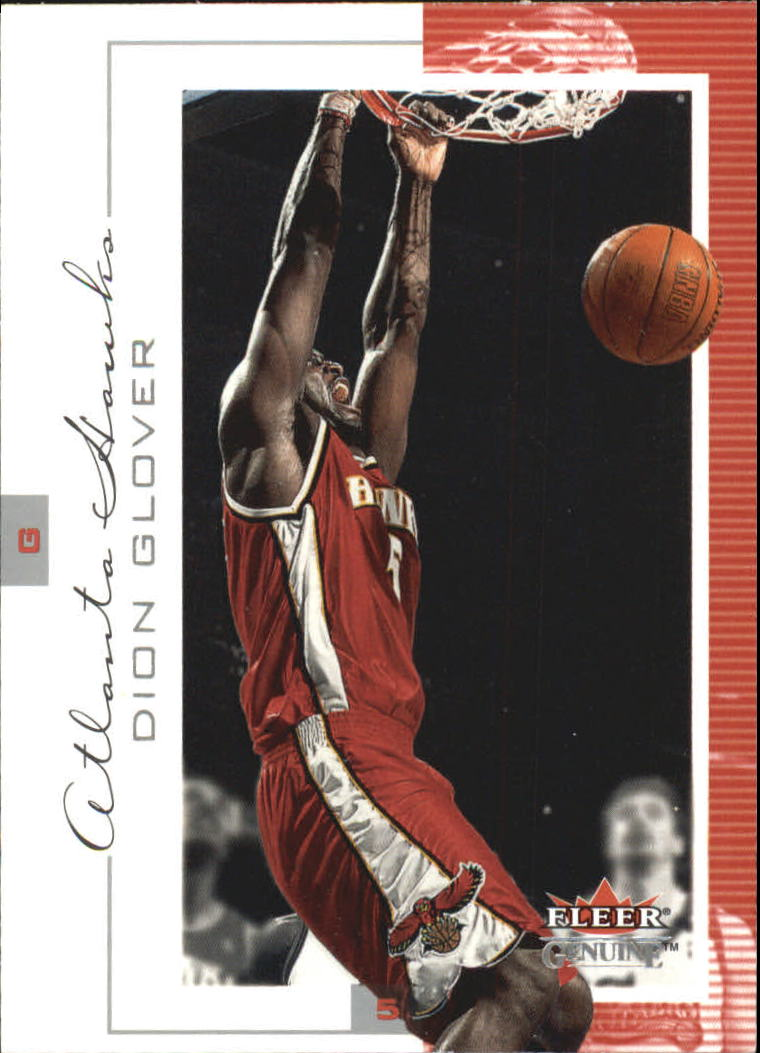 2000-01 Fleer Genuine #77 Dion Glover
