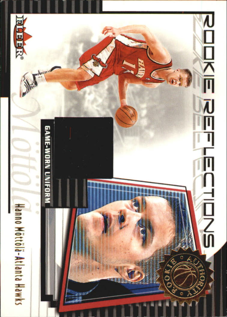 2000-01 Fleer Authority Rookie Reflections #RR9 Hanno Mottola
