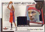 2000-01 Fleer Authority Rookie Reflections #RR16 Lamar Odom