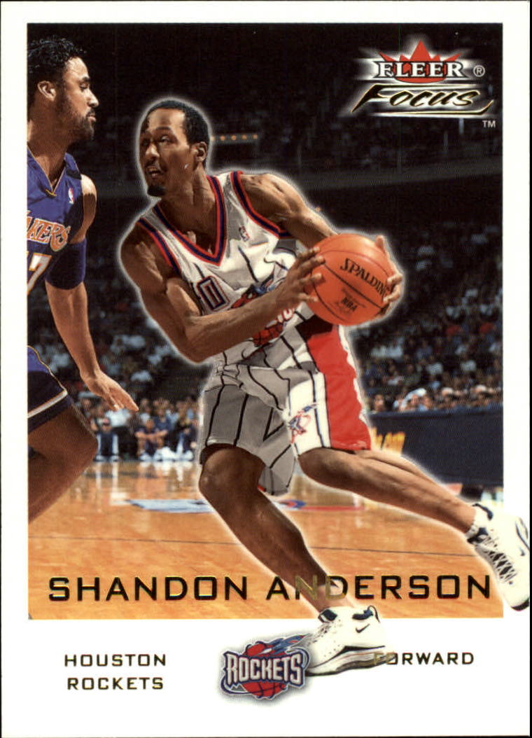 2000-01 Fleer Focus #19 Shandon Anderson