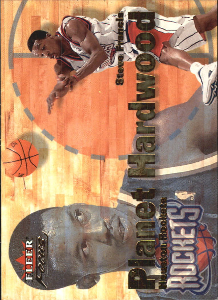 2000-01 Fleer Focus Planet Hardwood #PH6 Steve Francis