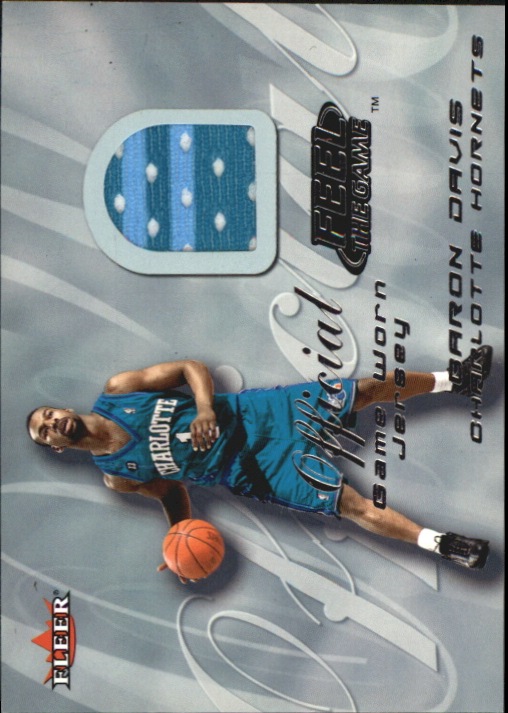 2000-01 Fleer Feel the Game #6 Baron Davis