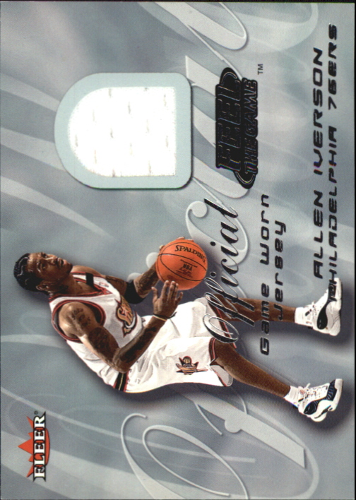 2000-01 Fleer Feel the Game #11 Allen Iverson