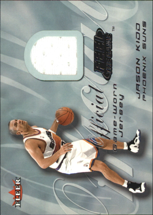 2000-01 Fleer Feel the Game #13 Jason Kidd