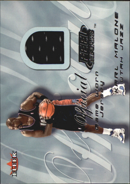 2000-01 Fleer Feel the Game #18 Karl Malone