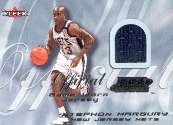 2000-01 Fleer Feel the Game #19 Stephon Marbury