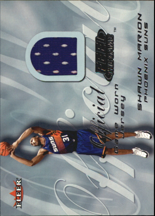 2000-01 Fleer Feel the Game #20 Shawn Marion