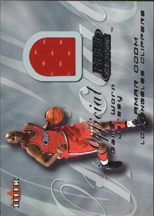 2000-01 Fleer Feel the Game #24 Lamar Odom