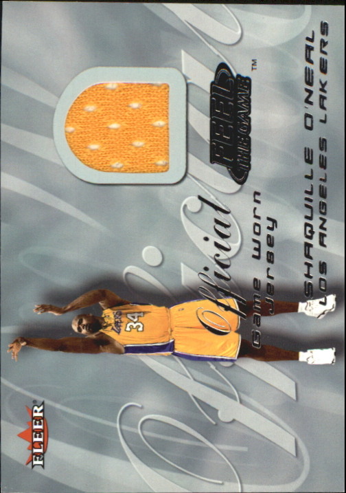 2000-01 Fleer Feel the Game #27A Shaquille O'Neal Purple