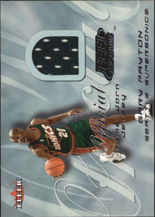 2000-01 Fleer Feel the Game #29 Gary Payton