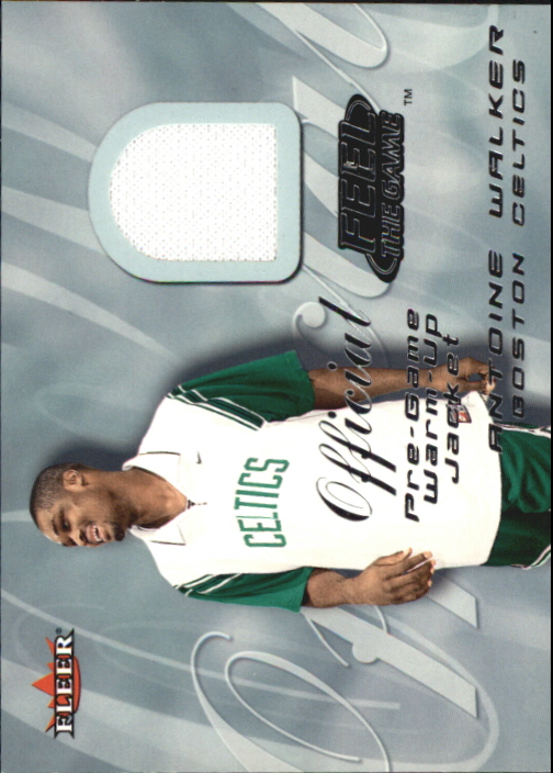 2000-01 Fleer Feel the Game #35 Antoine Walker