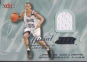 2000-01 Fleer Feel the Game #37 Jason Williams