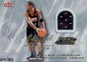 2000-01 Fleer Feel the Game Gold #11 Allen Iverson