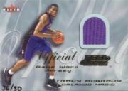 2000-01 Fleer Feel the Game Gold #21 Tracy McGrady