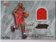 2000-01 Fleer Feel the Game Gold #24 Lamar Odom