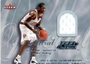 2000-01 Fleer Feel the Game Silver #11 Allen Iverson