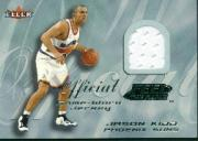 2000-01 Fleer Feel the Game Silver #13 Jason Kidd