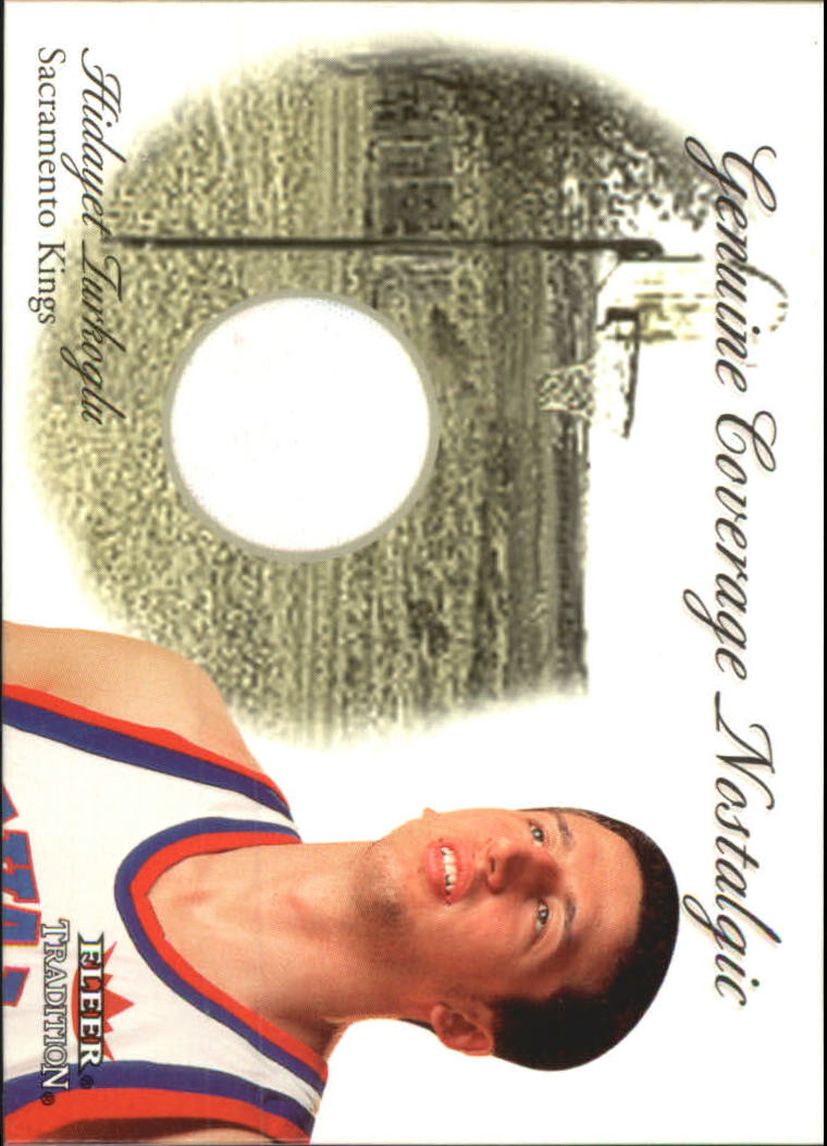 2000-01 Fleer Genuine Coverage Nostalgic #16 Hedo Turkoglu