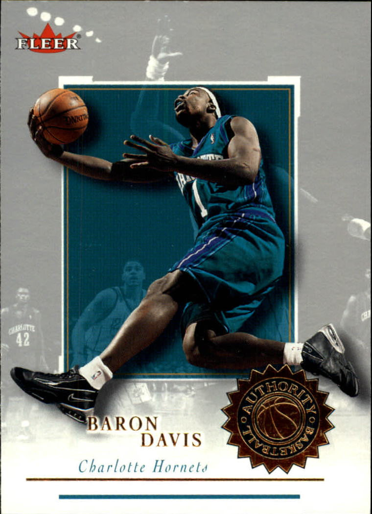 2000-01 Fleer Authority #36 Baron Davis