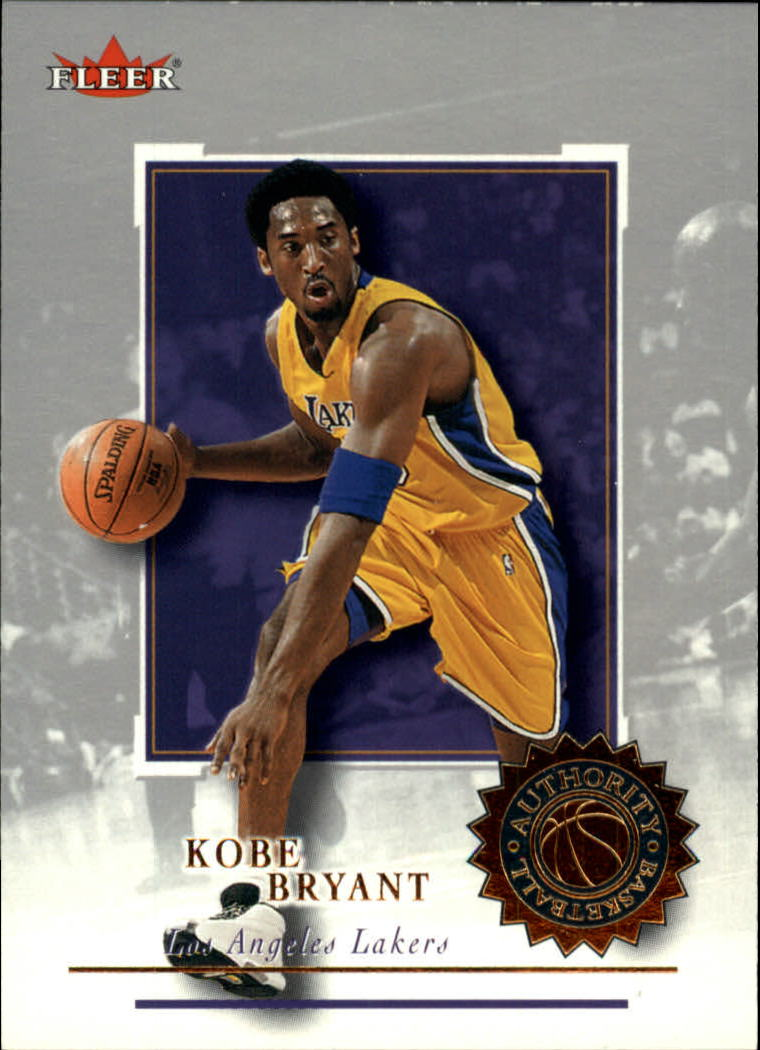 2000-01 Fleer Authority #87 Kobe Bryant