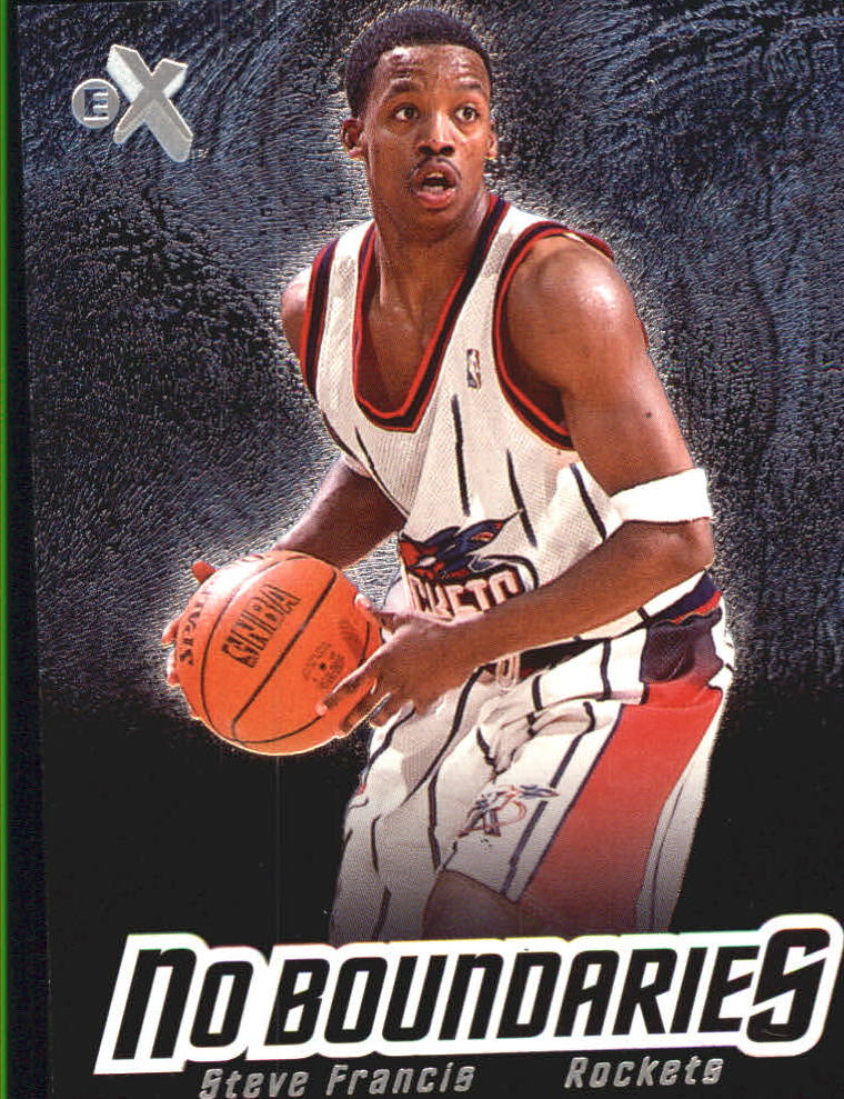 2000-01 E-X No Boundaries #NB8 Steve Francis