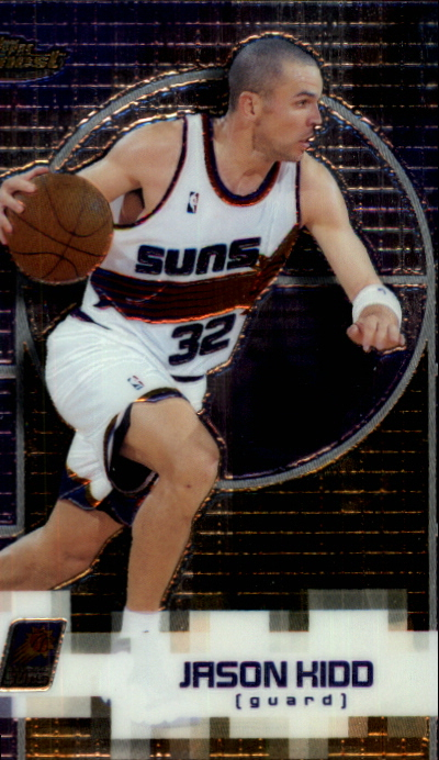 2000-01 Finest #50 Jason Kidd