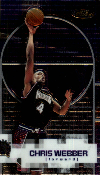 2000-01 Finest #97 Chris Webber